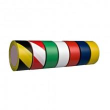 Yer İşaretleme İkaz Bandı 50 mm x 33 m Sarı / Siyah Çizgili