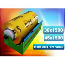 (e) GIDA STREÇ FİLM APARATI - METAL 30 CM X 1500 MT