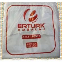 BEYAZ ORTA BOY ATLET MARKET POŞETİ 1 KG